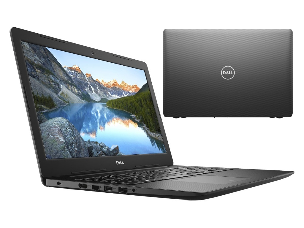 Ноутбук Dell Inspiron 3583 Black 3583-8475 (Intel Pentium 5405U 2.3 GHz/4096Mb/1000Gb/Intel HD Graphics/Wi-Fi/Bluetooth/Cam/15.6/1366x768/Linux)