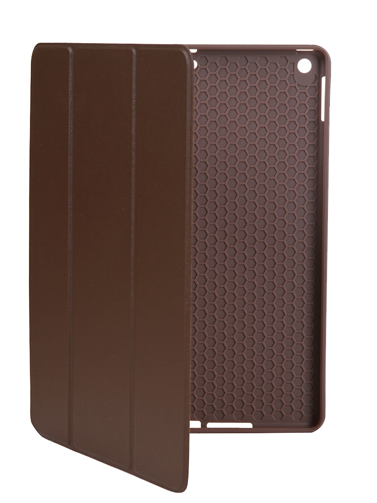 цена на Чехол Gurdini для APPLE iPad 10.2 Retina Leather Series Pen Slot Dark Brown 911368