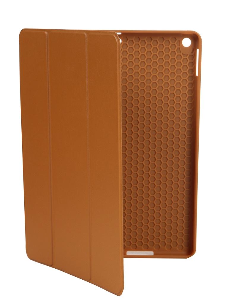 Чехол Gurdini для APPLE iPad 10.2 Retina Leather Series Pen Slot Light Brown 911375 аксессуар чехол gurdini lights series для apple ipad 9 7 2017 blue 903668