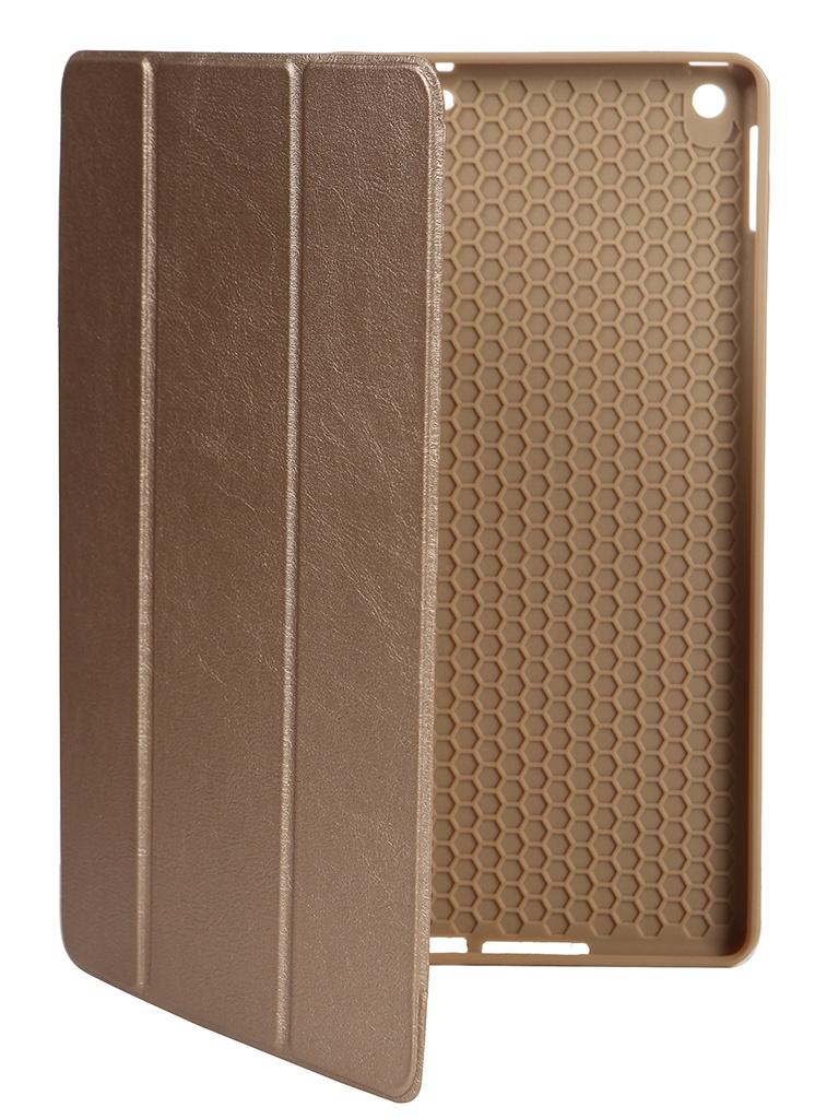 Чехол Gurdini для APPLE iPad 10.2 Retina Leather Series Pen Slot Gold 911374 аксессуар чехол gurdini lights series для apple ipad 9 7 2017 blue 903668