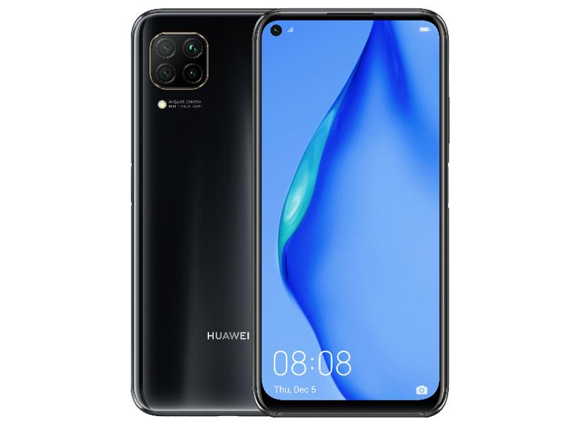 Сотовый телефон Huawei P40 Lite 6/128Gb Midnight Black Выгодный набор для Selfie + серт. 200Р!!!