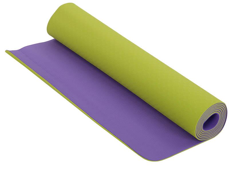 Коврик Larsen TPE 173x61x0.4cm Violet-Green 349391
