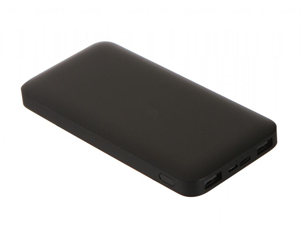 Внешний аккумулятор Xiaomi Redmi Power Bank 10000mAh PB100LZM Black внешний аккумулятор xiaomi mi power bank redmi white 10000mah vxn4266cn pb100lzm