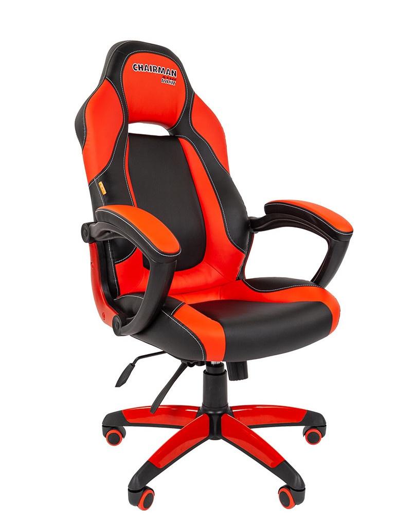 Компьютерное кресло Chairman Game 20 Black-Red
