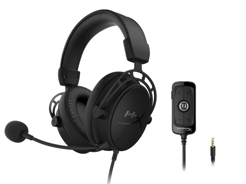 Наушники HyperX Cloud Alpha S Blackout Black HX-HSCAS-BK/WW