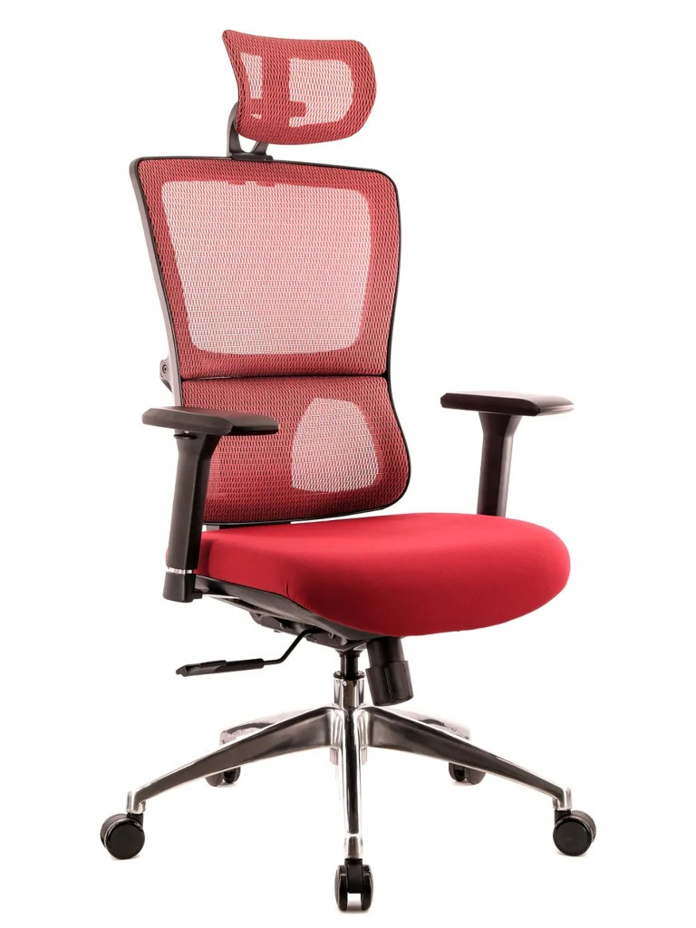 Компьютерное кресло Everprof Everest S сетка Red