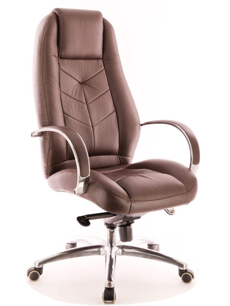 цена на Компьютерное кресло Everprof Drift Full AL M кожа Brown