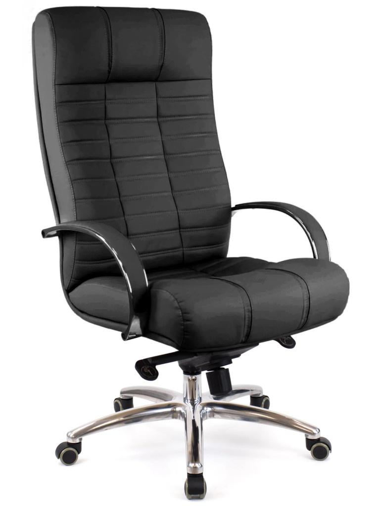Компьютерное кресло Everprof Atlant AL M кожа Black