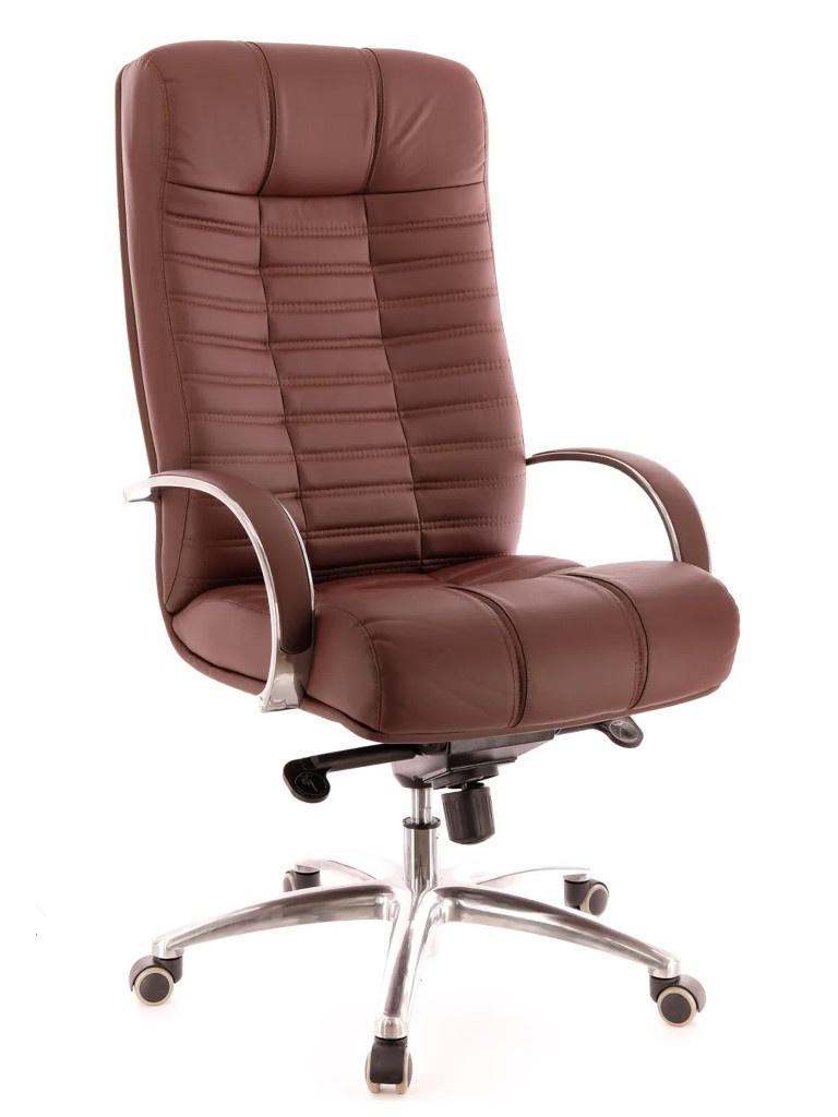 Компьютерное кресло Everprof Atlant AL M кожа Brown