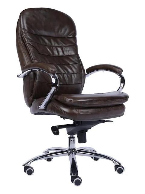 цена на Компьютерное кресло Everprof Valencia M кожа Brown