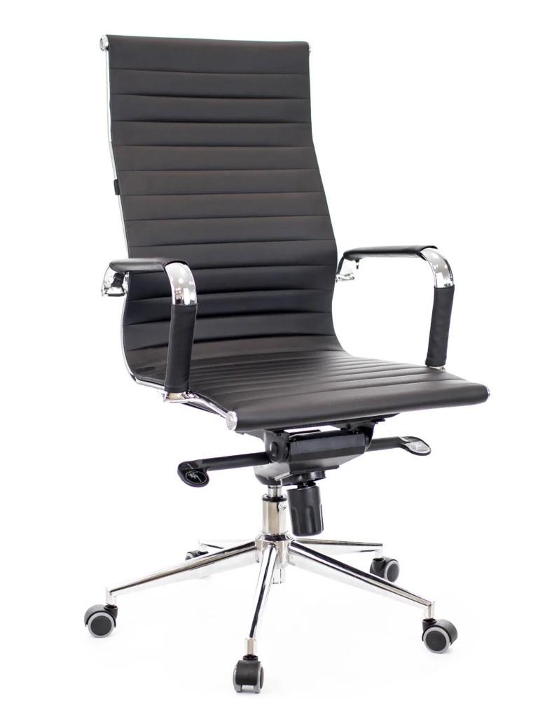 цена на Компьютерное кресло Everprof Rio M кожа Black