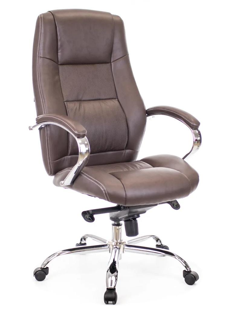 цена на Компьютерное кресло Everprof Kron M экокожа Brown