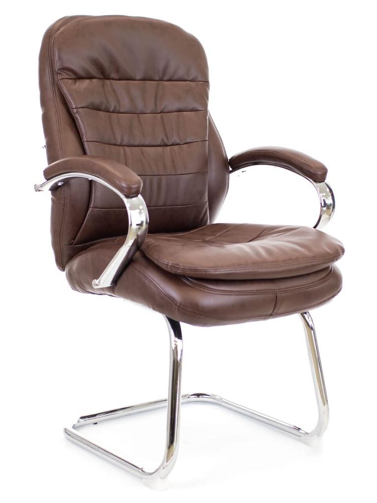 Компьютерное кресло Everprof Valencia CF экокожа Brown