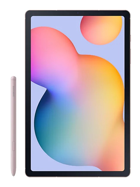 Планшет Samsung Galaxy Tab S6 Lite 10.4 LTE SM-P615 - 64Gb Pink SM-P615NZIASER (Exynos 9611 2.3 GHz/4096Mb/64Gb/GPS/LTE/3G/Wi-Fi/Bluetooth/Cam/10.4/2000x1200/Android)