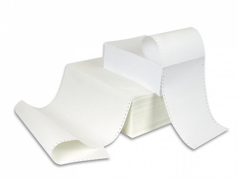 Бумага ProMega 210mm 60g/m2 перфорированная 2000 листов 94985