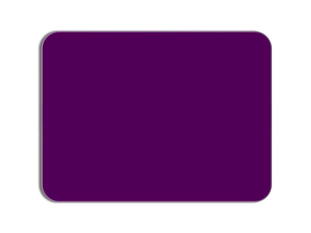 Доска стеклянная магнитно-маркерная Attache 40x60cm Lilac 1023827