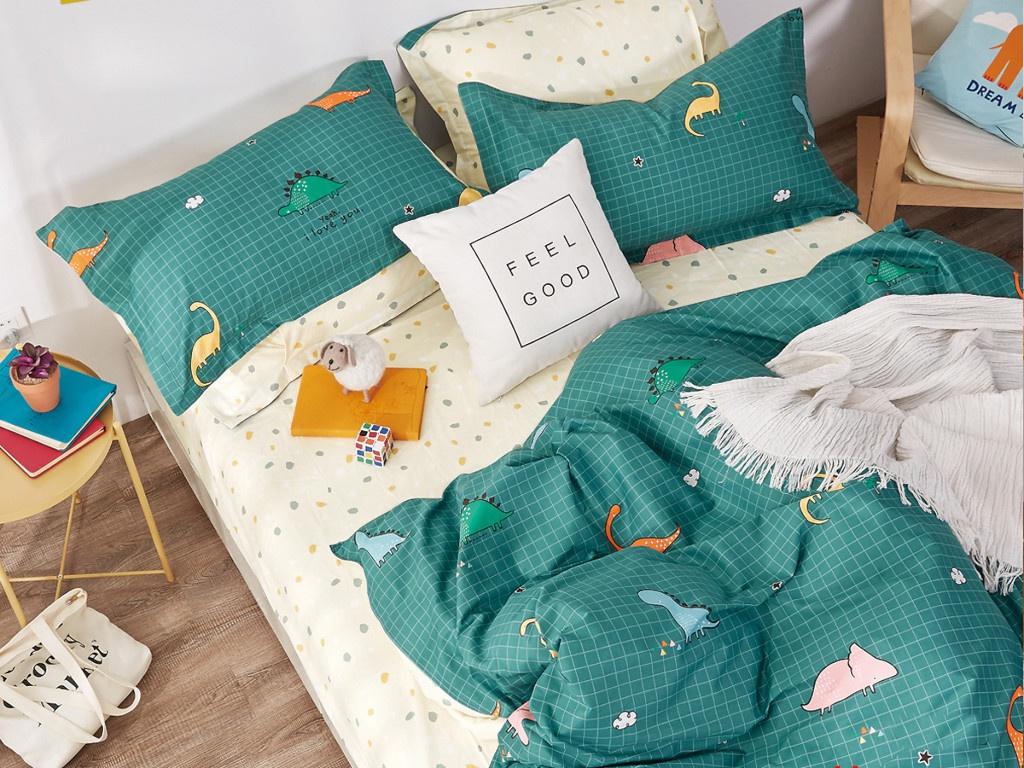 Фото - Постельное белье Cleo Satin Lux 15/488-SL Комплект 1.5 спальный Сатин bedding set полутораспальный cleo sk 15 342