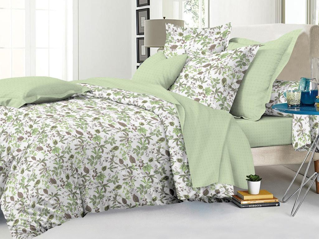 цена на Постельное белье Cleo Satin Lux 15/473-SL Комплект 1.5 спальный Сатин