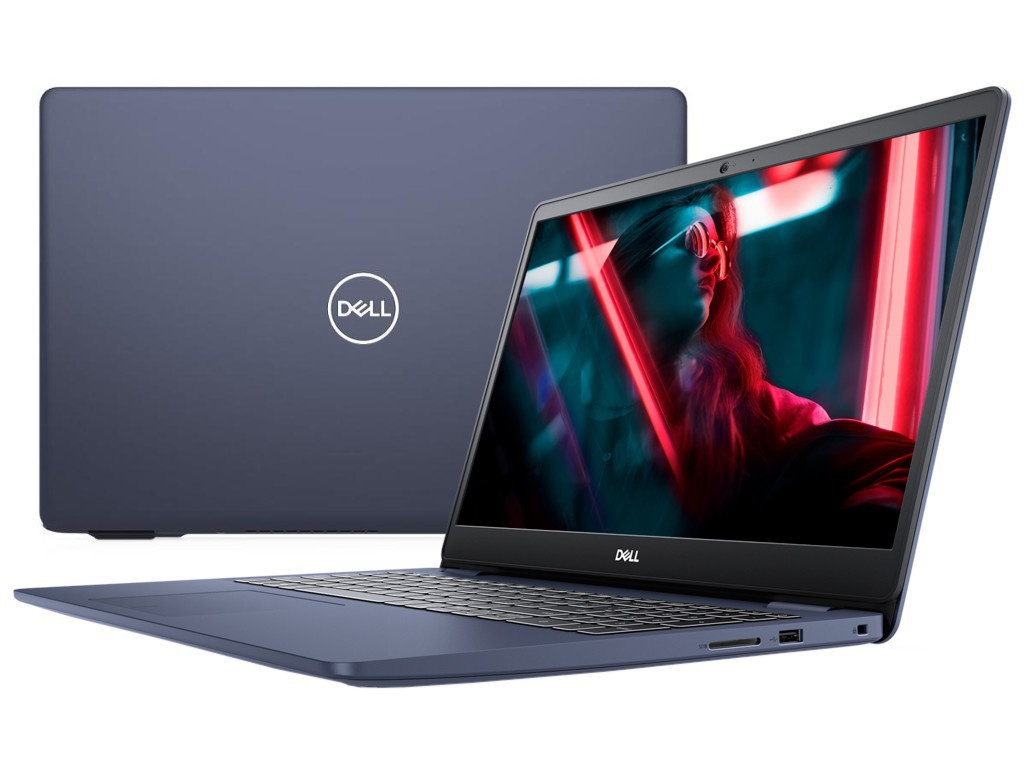 Ноутбук Dell Inspiron 5593 Blue 5593-8673 (Intel Core i5-1035G1 1.0 GHz/8192Mb/512Gb SSD/nVidia GeForce MX230 2048Mb/Wi-Fi/Bluetooth/Cam/15.6/1920x1080/Linux)