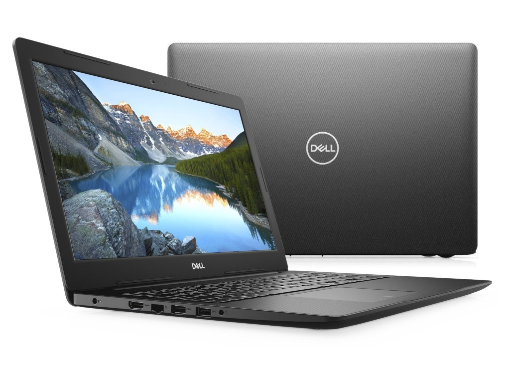 Ноутбук Dell Inspiron 3593 Black 3593-8598 (Intel Core i3-1005G1 1.2 GHz/4096Mb/1000Gb/Intel HD Graphics/Wi-Fi/Bluetooth/Cam/15.6/1920x1080/Linux)