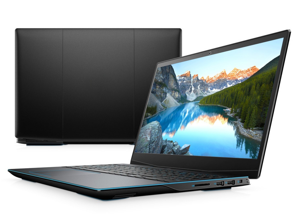 Ноутбук Dell G3 3590 Black G315-8398 (Intel Core i7-9750H 2.6 GHz/8192Mb/512Gb SSD/nVidia GeForce GTX 1660Ti 6144Mb/Wi-Fi/Bluetooth/Cam/15.6/1920x1080/Linux)