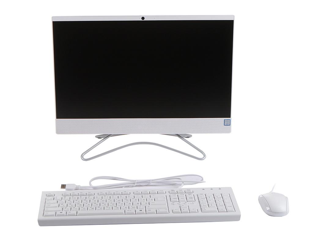 Моноблок HP 22-c0120ur White 7JT37EA (Intel Core i7-9700T 2.0 GHz/8192Mb/512Gb SSD/nVidia GeForce MX110 2048Mb/Wi-Fi/Bluetooth/Cam/21.5/1920x1080/Touchscreen/Windows 10 Home 64-bit)
