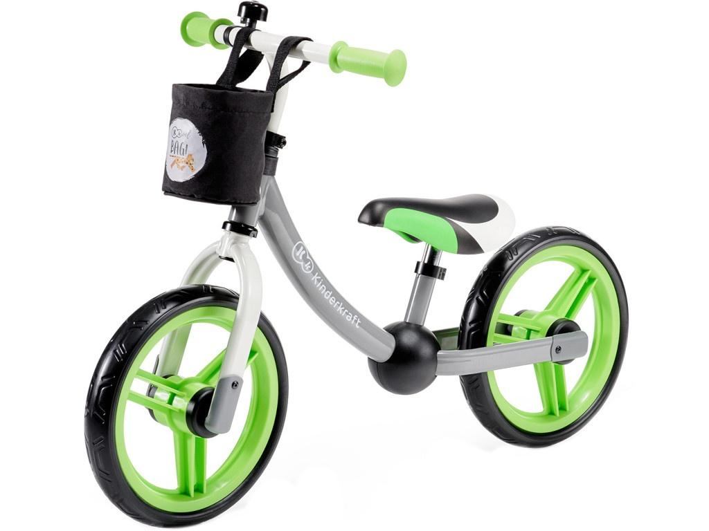 Беговел Kinderkraft Balance Bike 2Way Next Green/Gray KKR2WNXGRE00AC