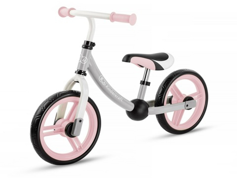 Беговел Kinderkraft Balance Bike 2Way Next Light Pink KKR2WNXLTPK0AC
