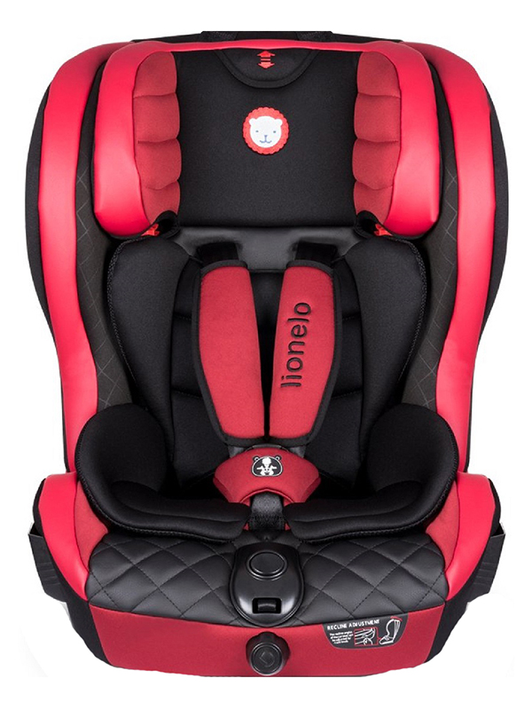 Автокресло Lionelo LO-Adriaan Isofix Leather Red