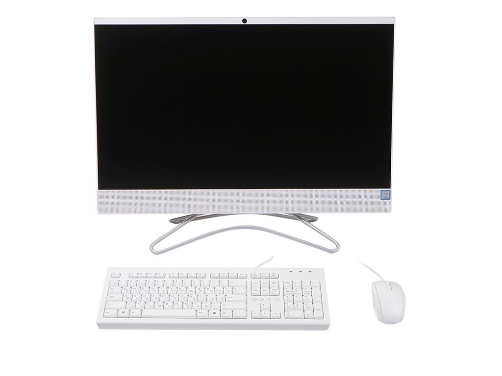 Моноблок HP 24-f0164ur White 8TY26EA (Intel Core i5-9400T 1.8 GHz/4096Mb/1000Gb + 16Gb SSD/nVidia GeForce MX110 2048Mb/Wi-Fi/Bluetooth/Cam/23.8/1920x1080/Windows 10 Home 64-bit) ноутбук hp 15 da0188ur 4mt69ea intel core i3 7020u 2 3 ghz 4096mb 128gb ssd no odd nvidia geforce mx110 2048mb wi fi bluetooth cam 15 6 1920x1080 windows 10