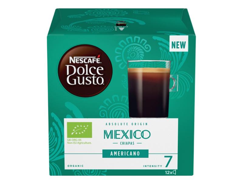 Капсулы Nescafe Mexico Americano 12шт стандарта Dolce Gusto