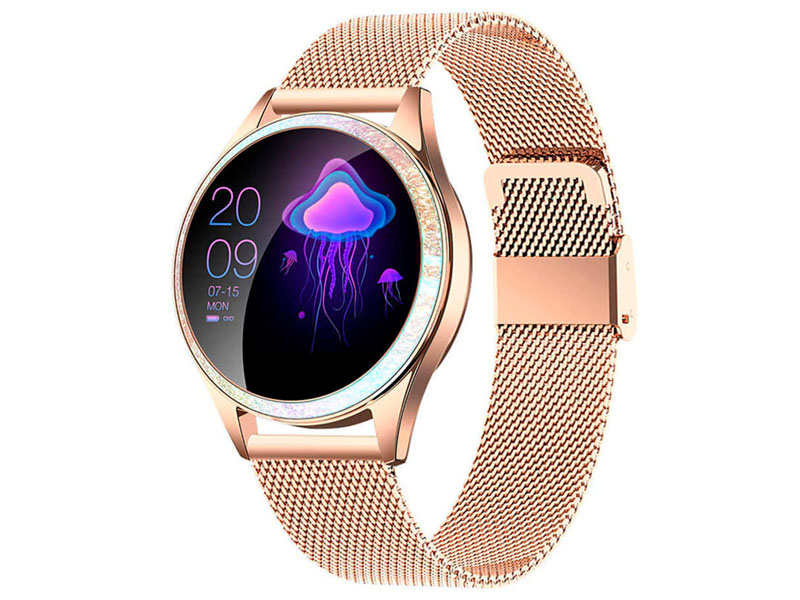 Фото - Умные часы KingWear KW20 Gold умные часы kingwear gv68 red