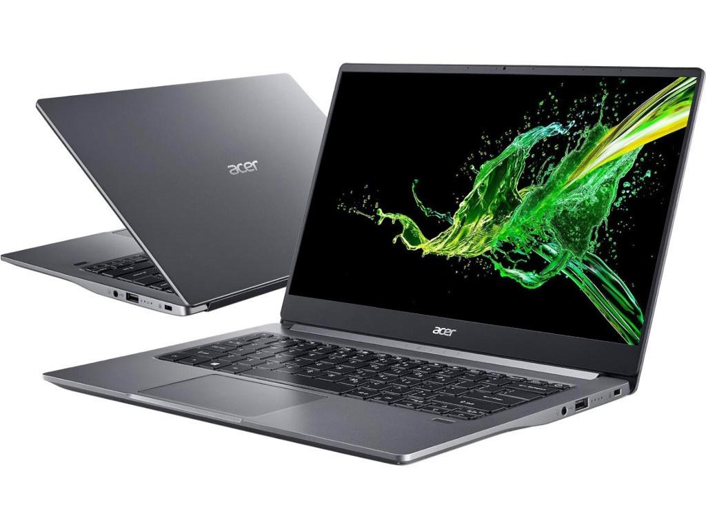 Ноутбук Acer Swift SF314-57G-70NQ Iron NX.HUKER.001 (Intel Core i7-1065G7 1.3 GHz/16384Mb/1024Gb SSD/nVidia GeForce MX350 2048Mb/Wi-Fi/Bluetooth/Cam/14.0/1920x1080/Only boot up)