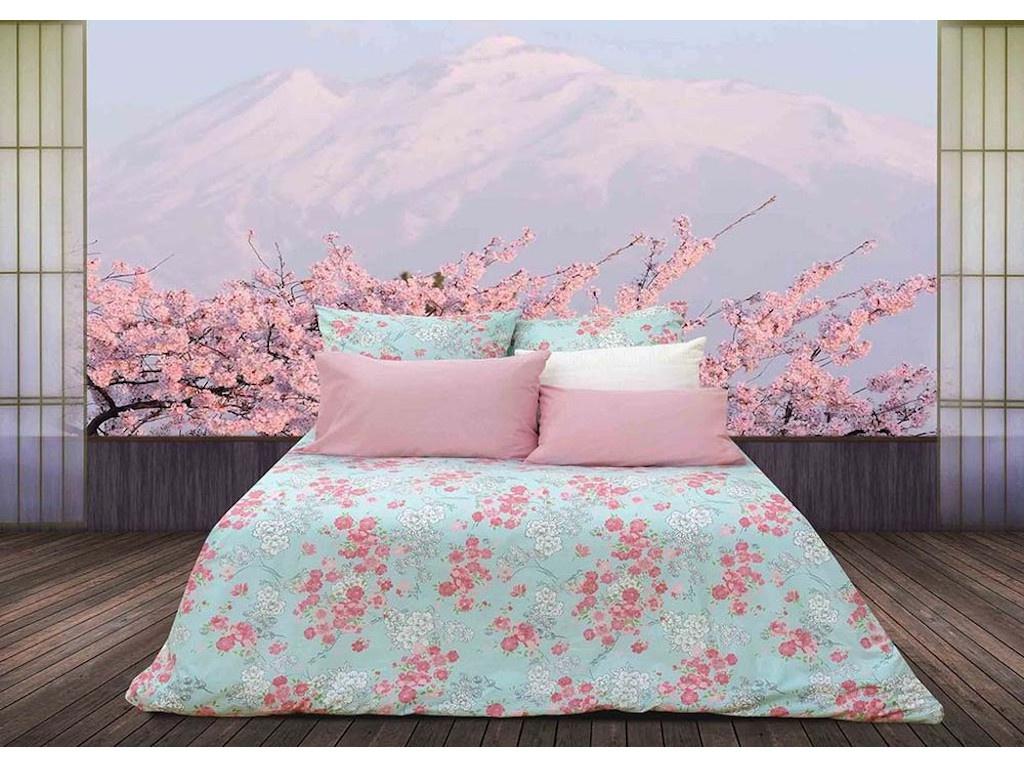 Постельное белье Sova&Javoronok Японский сад Комплект 1.5 спальный Перкаль 22031217438