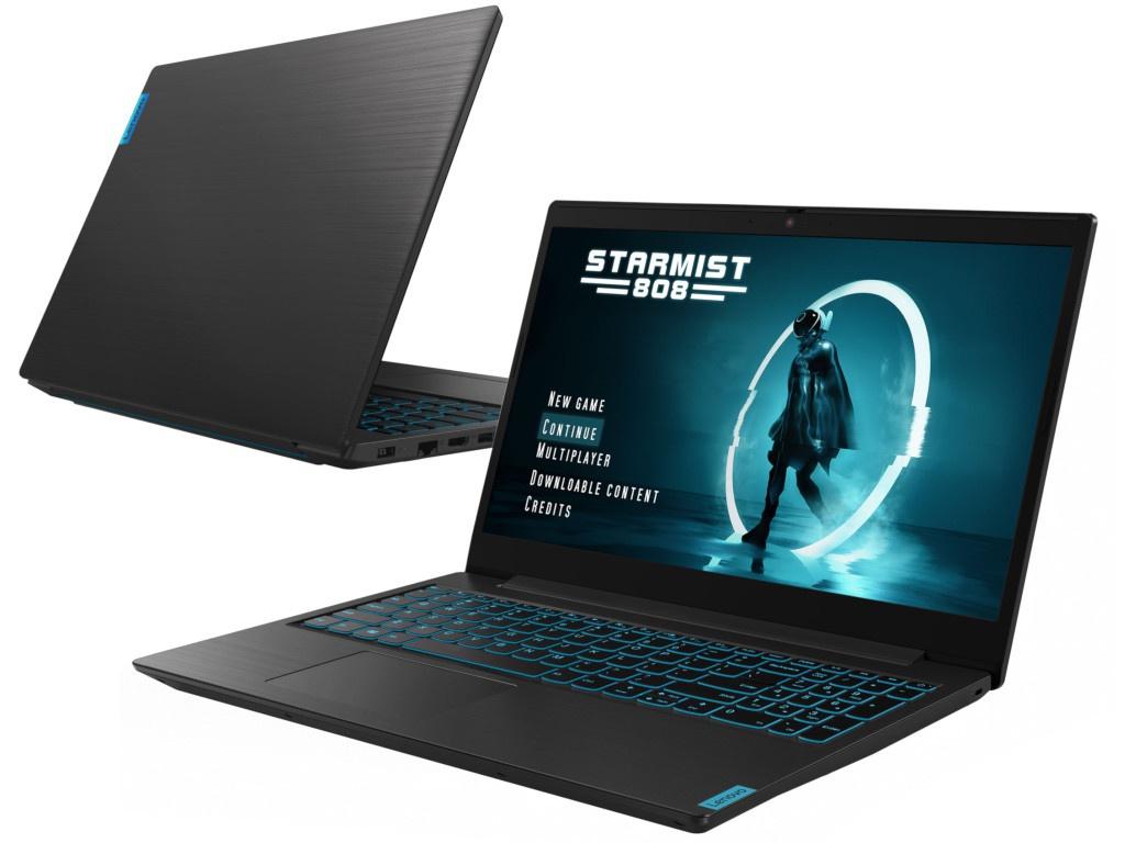 Ноутбук Lenovo IdeaPad L340-15IRH Black 81LK01GXRK (Intel Core i5-9300HF 2.4 GHz/16384Mb/256Gb SSD/nVidia GeForce GTX 1650 4096Mb/Wi-Fi/Bluetooth/Cam/15.6/1920x1080/DOS)