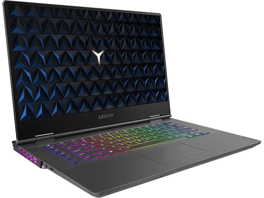 Ноутбук Lenovo Legion Y740-15IRH Black 81UF0010RK (Intel Core i7-9750H 2.6 GHz/16384Mb/1000Gb + 512Gb SSD/nVidia GeForce GTX 1660Ti 6144Mb/Wi-Fi/Bluetooth/Cam/15.6/1920x1080/DOS)