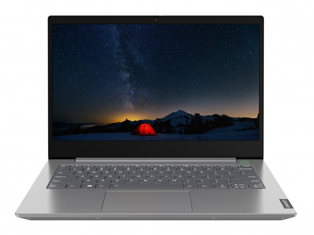 Ноутбук Lenovo ThinkBook 14-IIL Grey 20SL003NRU (Intel Core i3-1005G1 1.2 GHz/4096Mb/256Gb SSD/Intel HD Graphics/Wi-Fi/Bluetooth/Cam/14.0/1920x1080/DOS)