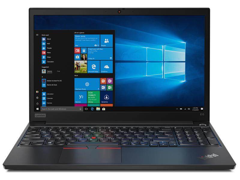 Ноутбук Lenovo ThinkPad E15 Black 20RD002CRT (Intel Core i5-10210U 1.6 GHz/8192Mb/512Gb SSD/Intel HD Graphics/Wi-Fi/Bluetooth/Cam/15.6/1920x1080/Windows 10 Pro 64-bit)