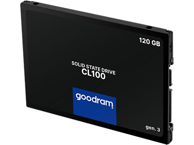 Твердотельный накопитель GoodRAM CL100 Gen.3 120Gb SSDPR-CL100-120-G3