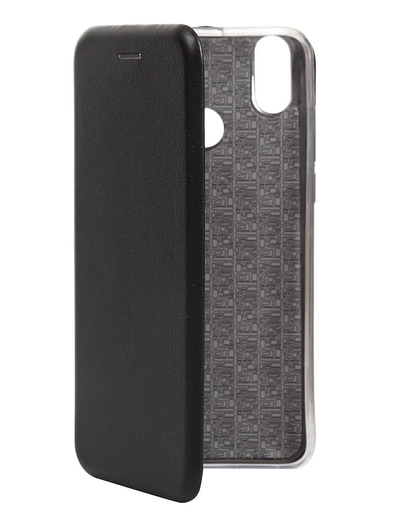 цена на Чехол для BQ BQ-6022G Aura экокожа + Silicone Black