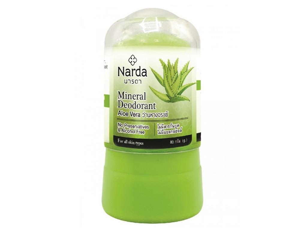 Дезодорант Narda Mineral Deodorant Aloe Vera 80г 60112