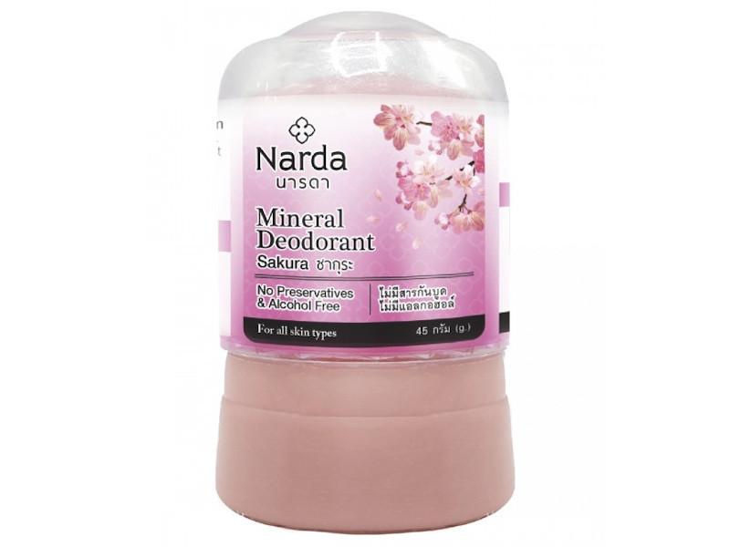 Дезодорант Narda Mineral Deodorant Sakura 45г 60150