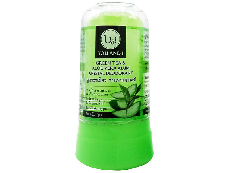 Дезодорант U&I Stick Body Deodorant with Green Tee Aloe Vera 80g 2806