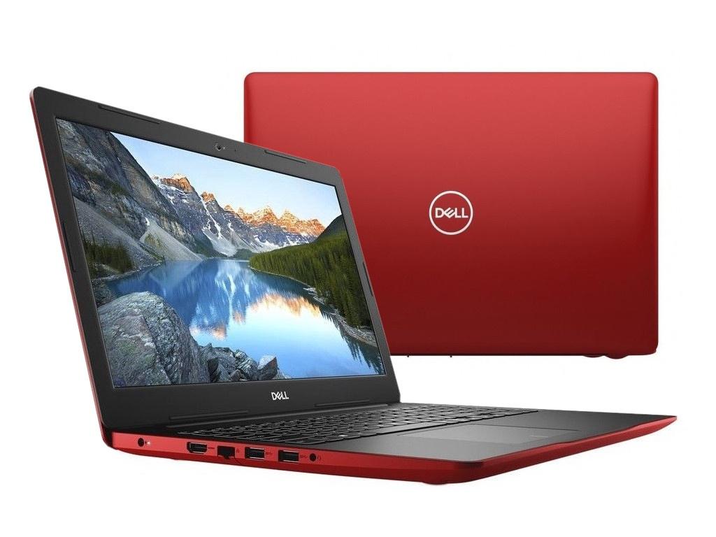 Ноутбук Dell Inspiron 3580 Red 3580-8413 (Intel Celeron 4205U 1.8 GHz/4096Mb/500Gb/Intel HD Graphics/Wi-Fi/Bluetooth/Cam/15.6/1366x768/Linux) ноутбук dell inspiron 3582 celeron n4000 1 1 4g 500g 15 6