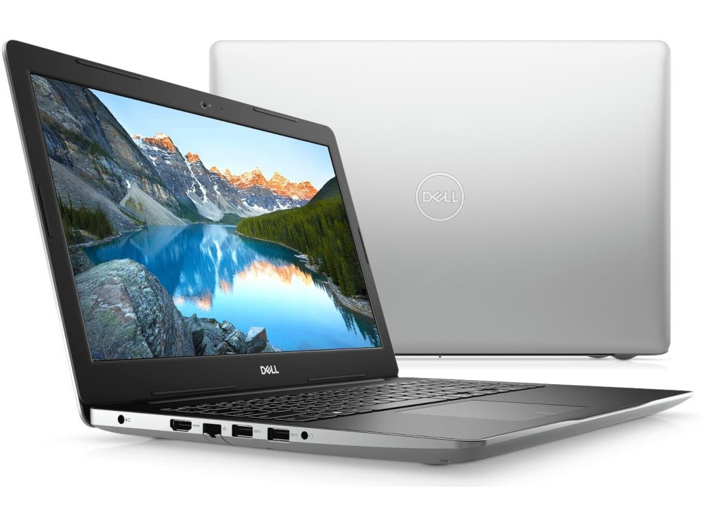 Ноутбук Dell Inspiron 3593 Silver 3593-8642 (Intel Core i5-1035G1 1.0 GHz/8192Mb/1000Gb/DVD-RW/nVidia GeForce MX230 2048Mb/Wi-Fi/Bluetooth/Cam/15.6/1920x1080/Linux)