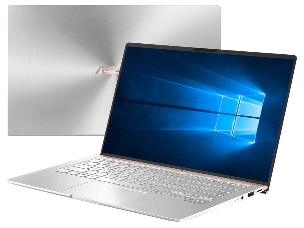 Ноутбук ASUS Zenbook UX433FLC-A5507R Silver 90NB0MP6-M11610 (Intel Core i7-10510U 1.8 GHz/16384Mb/1024Gb SSD/nVidia GeForce MX250 2048Mb/Wi-Fi/Bluetooth/Cam/14.0/1920x1080/Windows 10 Pro 64-bit)