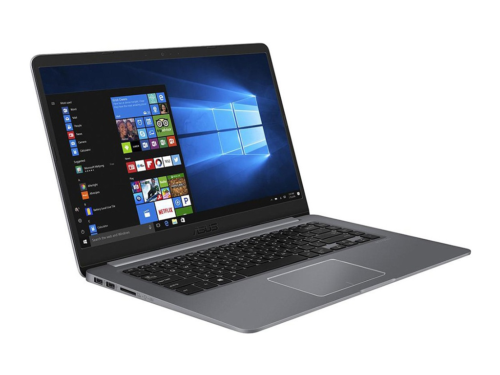 Ноутбук ASUS VivoBook S510UN-BQ417T Grey 90NB0GS5-M08800 (Intel Core i5-8250U 1.6 GHz/4096Mb/1000Gb + 16Gb SSD/nVidia GeForce MX150 2048Mb/Wi-Fi/Bluetooth/Cam/15.6/1920x1080/Windows 10 Home 64-bit) ноутбук hp 15 da0124ur 4kg49ea jet black intel core i5 8250u 1 6 ghz 8192mb 1000gb 128gb ssd no odd nvidia geforce mx130 4096mb wi fi cam 15 6 1920x1080 windows 10 64 bit