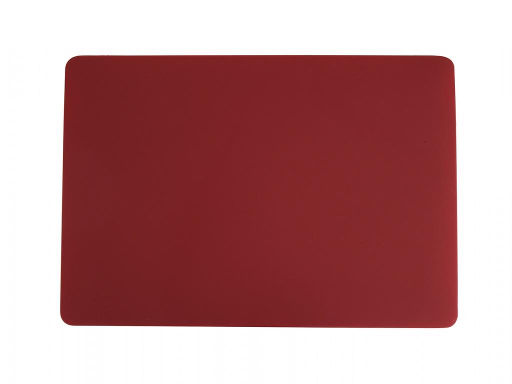 Аксессуар Чехол Gurdini для APPLE Macbook Pro 16 New 2019 Plastic Matt Bordo 912528