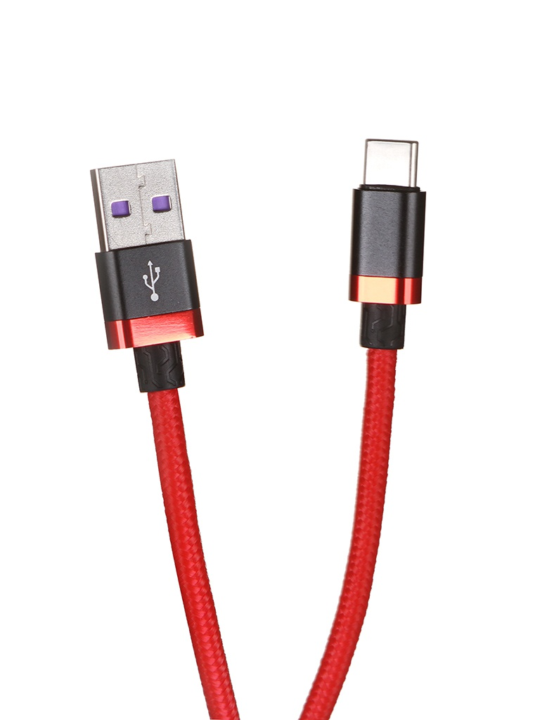 Аксессуар Baseus HW Flash Charge Cable USB - Type-C 40W 2m Red CATZH-B09