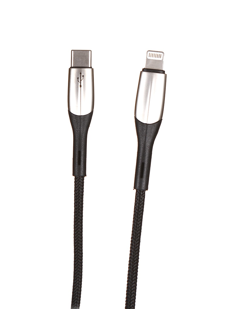 Фото - Аксессуар Baseus Horizontal Data Cable Type-C to Lightning PD 18W 50cm Black CATLSP-A01 аксессуар baseus yiven type c lightning 2a 2m black catlyw d01